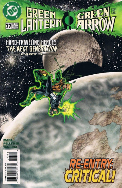 Cover for Green Lantern (DC, 1990 series) #77 [Direct Sales]