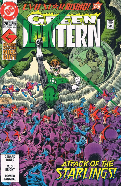Cover for Green Lantern (DC, 1990 series) #26 [Direct Sales]