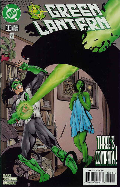 Cover for Green Lantern (DC, 1990 series) #86 [Direct Sales]