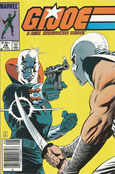 Cover for G.I. Joe, A Real American Hero (Marvel, 1982 series) #38 [Direct Edition]