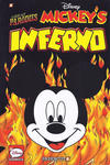 "Cover for Disney Graphic Novels (NBM, 2015 series) #4 - Great Parodies ""Mickey's Inferno"""