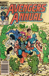 Cover for The Avengers Annual (Marvel, 1967 series) #13 [Newsstand Edition]