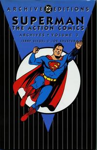 Cover Thumbnail for Superman: The Action Comics Archives (DC, 1997 series) #3