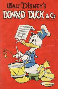 Cover Thumbnail for Donald Duck & Co (Hjemmet, 1948 series) #4/1949