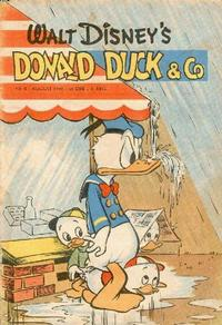 Cover Thumbnail for Donald Duck & Co (Hjemmet, 1948 series) #8/1949