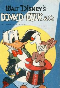 Cover Thumbnail for Donald Duck & Co (Hjemmet, 1948 series) #1/1950
