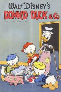 Cover for Donald Duck & Co (Hjemmet, 1948 series) #7/1951