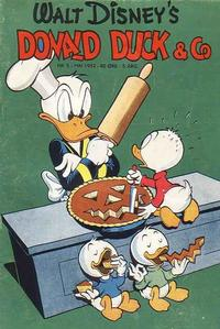 Cover Thumbnail for Donald Duck & Co (Hjemmet, 1948 series) #5/1952