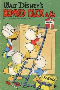 Cover for Donald Duck & Co (1948 series) #11/1953