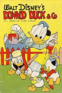 Cover for Donald Duck & Co (Hjemmet, 1948 series) #2/1955