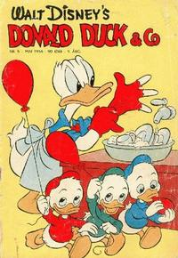 Cover Thumbnail for Donald Duck & Co (Hjemmet, 1948 series) #5/1956