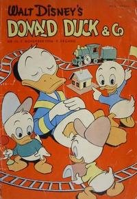 Cover Thumbnail for Donald Duck & Co (Hjemmet, 1948 series) #12/1956