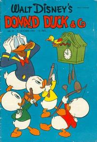 Cover Thumbnail for Donald Duck & Co (Hjemmet, 1948 series) #21/1957
