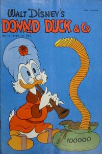 Cover Thumbnail for Donald Duck & Co (Hjemmet, 1948 series) #16/1958