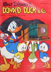 Cover Thumbnail for Donald Duck & Co (Hjemmet, 1948 series) #29/1958