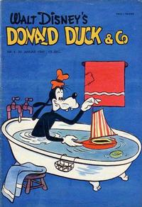 Cover for Donald Duck & Co (Hjemmet, 1948 series) #4/1960