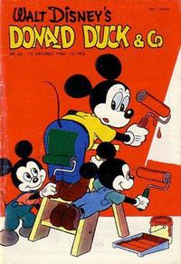 Cover Thumbnail for Donald Duck & Co (Hjemmet / Egmont, 1948 series) #43/1960