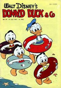 Cover Thumbnail for Donald Duck & Co (Hjemmet, 1948 series) #29/1961