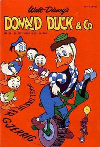 Cover Thumbnail for Donald Duck & Co (Hjemmet, 1948 series) #39/1962