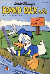 Cover Thumbnail for Donald Duck & Co (Hjemmet, 1948 series) #40/1962
