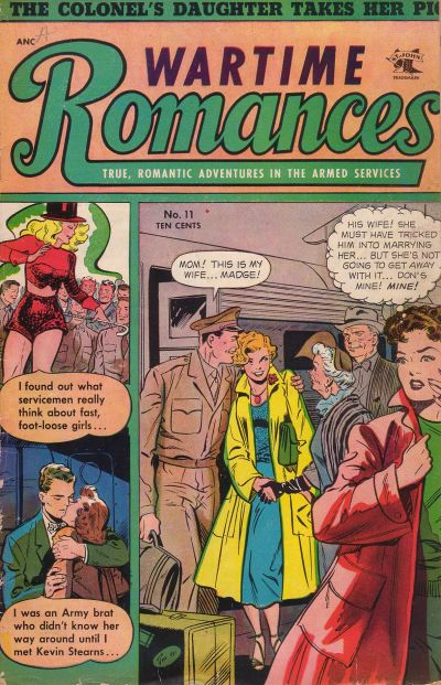 Cover for Wartime Romances (St. John, 1951 series) #11