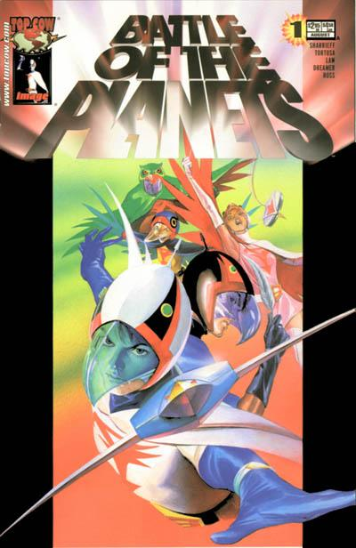 Cover for Battle of the Planets (2002 series) #1 [Alex Ross Holofoil Cover]