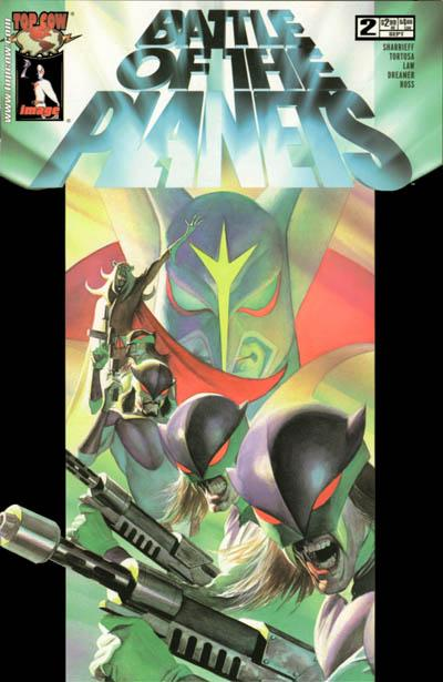 Cover for Battle of the Planets (2002 series) #2