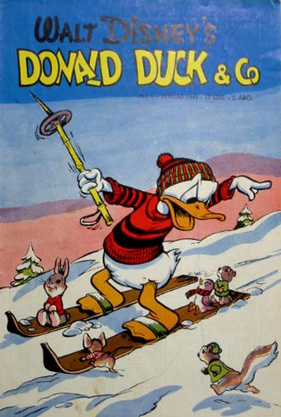 Cover for Donald Duck & Co (Hjemmet, 1948 series) #1/1949
