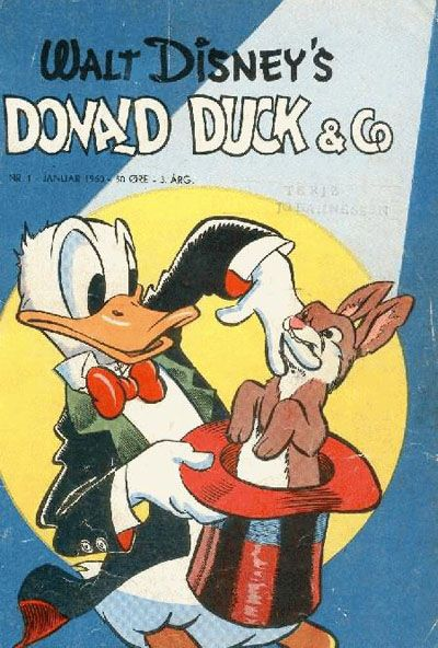 Cover for Donald Duck & Co (Hjemmet, 1948 series) #1/1950