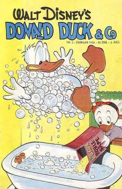 Cover for Donald Duck & Co (Hjemmet, 1948 series) #2/1950