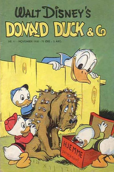 Cover for Donald Duck & Co (1948 series) #11/1950