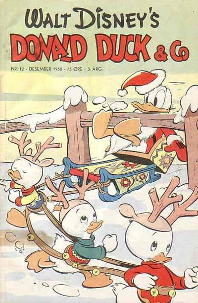 Cover for Donald Duck & Co (Hjemmet, 1948 series) #12/1950