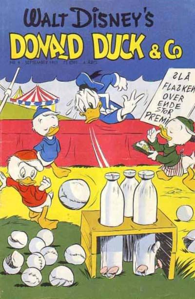 Cover for Donald Duck & Co (Hjemmet, 1948 series) #9/1951