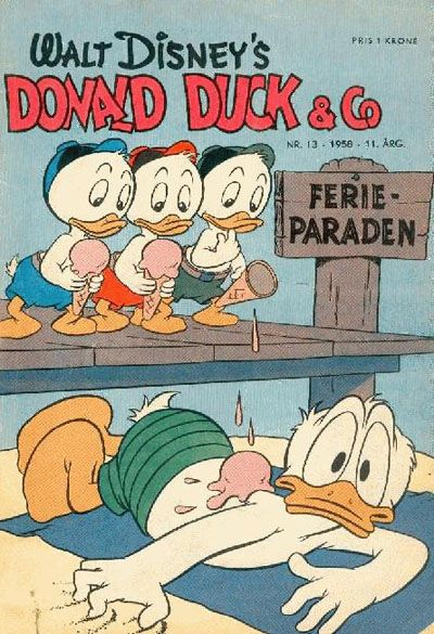 Cover for Donald Duck & Co (Hjemmet, 1948 series) #13/1958