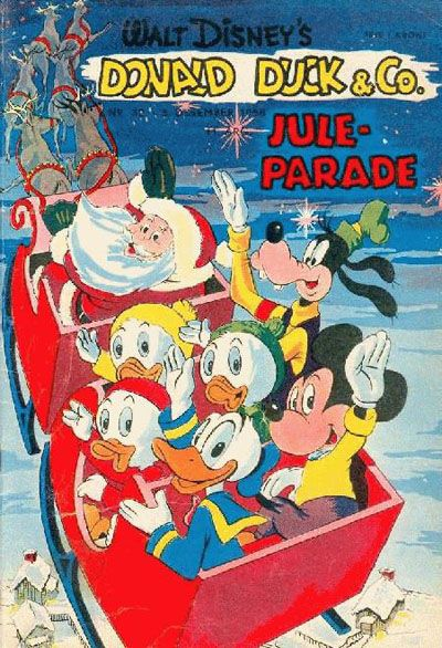 Cover for Donald Duck & Co (Hjemmet, 1948 series) #32/1958