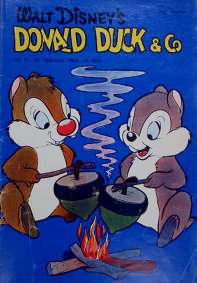 Cover for Donald Duck & Co (Hjemmet, 1948 series) #9/1959