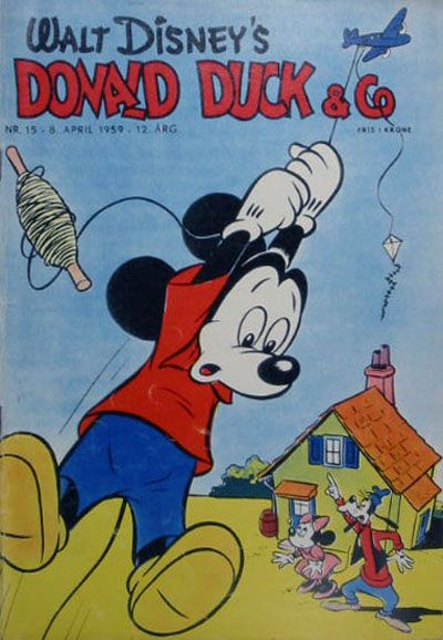 Cover for Donald Duck & Co (Hjemmet, 1948 series) #15/1959