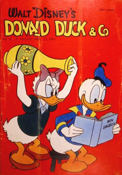 Cover for Donald Duck & Co (Hjemmet, 1948 series) #32/1959