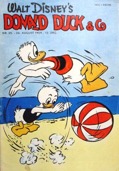 Cover for Donald Duck & Co (Hjemmet, 1948 series) #35/1959