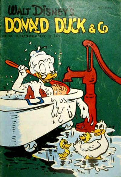 Cover for Donald Duck & Co (Hjemmet, 1948 series) #36/1959