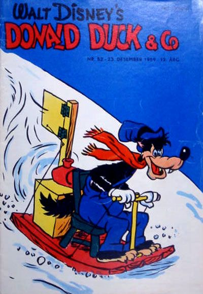 Cover for Donald Duck & Co (Hjemmet, 1948 series) #52/1959