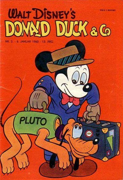 Cover for Donald Duck & Co (Hjemmet, 1948 series) #2/1960