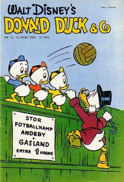 Cover for Donald Duck & Co (Hjemmet, 1948 series) #12/1960