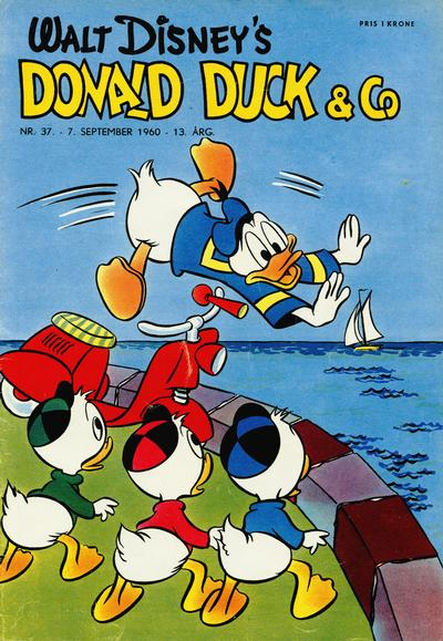 Cover for Donald Duck & Co (Hjemmet, 1948 series) #37/1960