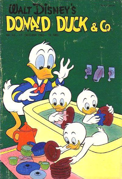 Cover for Donald Duck & Co (Hjemmet, 1948 series) #42/1960
