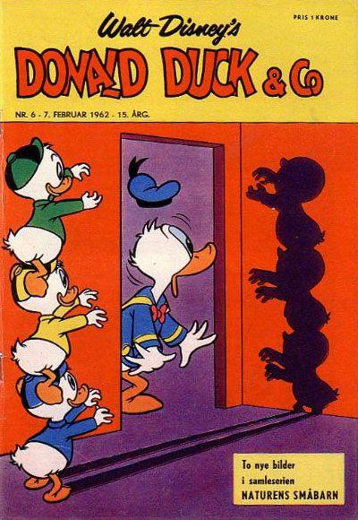 Cover for Donald Duck & Co (Hjemmet, 1948 series) #6/1962