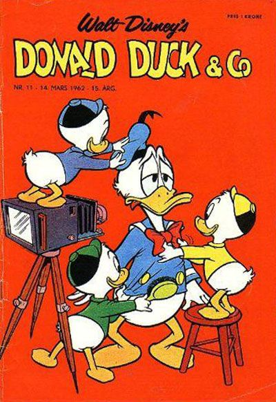 Cover for Donald Duck & Co (Hjemmet, 1948 series) #11/1962