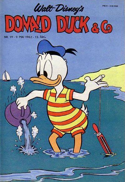 Cover for Donald Duck & Co (Hjemmet, 1948 series) #19/1962