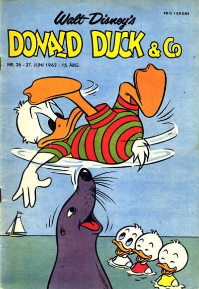 Cover for Donald Duck & Co (1948 series) #26/1962