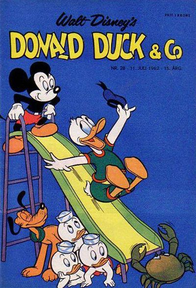 Cover for Donald Duck &amp; Co (1948 series) #28/1962